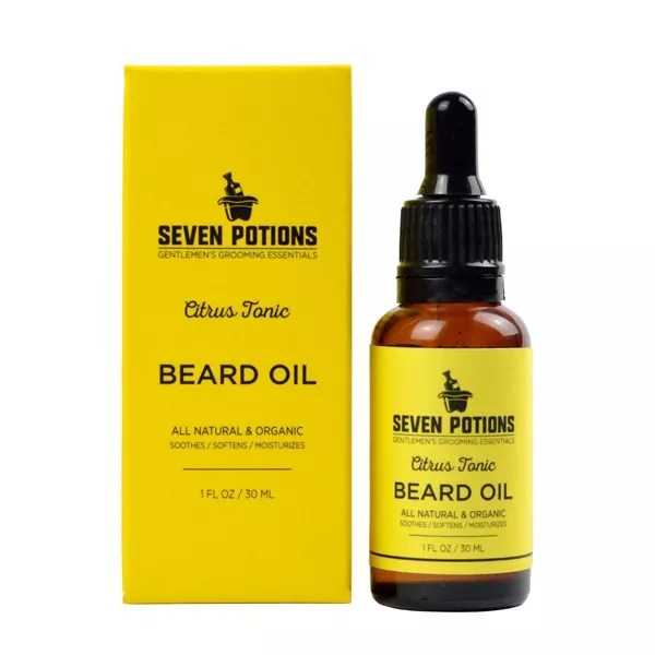 Men's Beard Oil Grooming Kit Gifts
