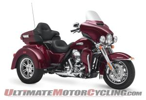 2015 HarleyDavidson TriGlide Recall for Rear Brake Issues