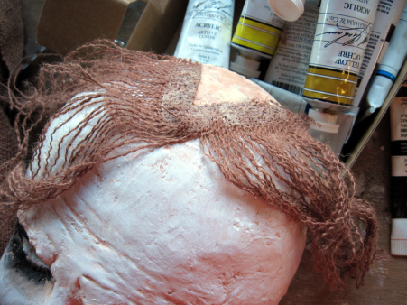 Adding Hair to the Joker Mask
