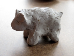 Paper Clay - A Craft for Very Young Kids