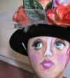 Paper Mache Hat Stand