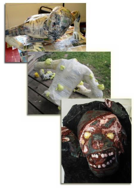 Michae's Zombie Sculpture