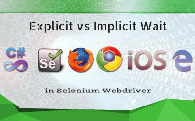 The difference between Explicit and Implicit Waits in Selenium WebDriver
