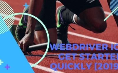 WebDriverIO: Get started quickly [2019]