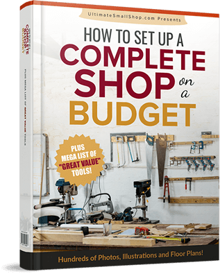 how to set up woodworking workshop on a budget
