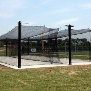 Mastodon Batting Cage (Double Stall)