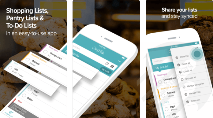 Top 5 Best Grocery and Shopping List Apps