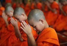 grotta monaci buddisti