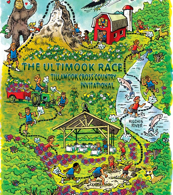 Official Ultimook Race Map