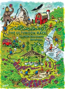 5k Ultimook Race Course Map
