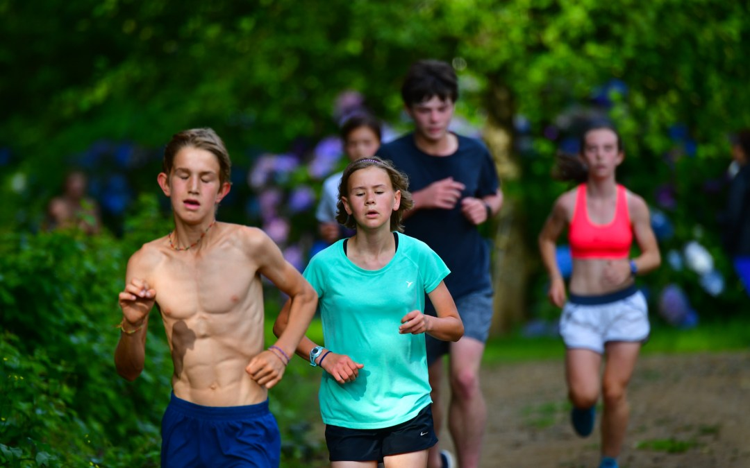 High School Cross Country Camp 2019 session 2, day 7 photos