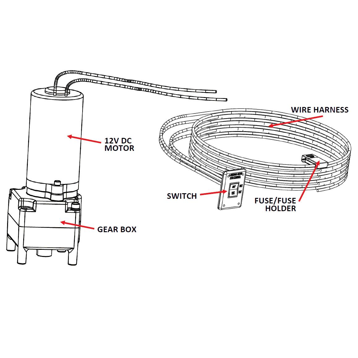 Ultra Series Motor Amp Switch Kit For Ultra Manual 5wj