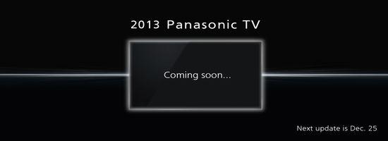 "Der geheimnissvolle "" 2013 Panasonic TV "": Ultra HD, OLED oder doch was anderes?"