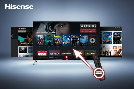 Hisense: UHD Smart-TVs mit Wuaki.tv-Taste ab Mai 2016