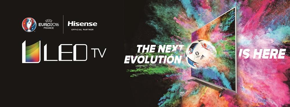 Hisense & UEFA EURO 2016: M7000-Serie mit ULED vorgestellt