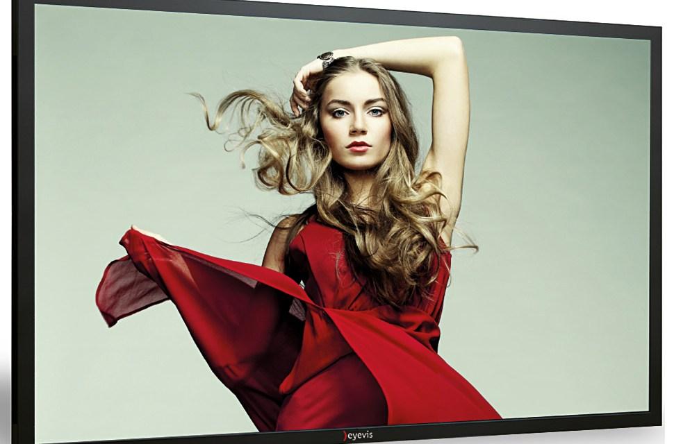 Eyevis stellt neuen 4K LCD Monitor mit 50 Zoll vor