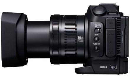 """Professioneller Canon 4K-Camcorder ergänzt das Set oder glänzt beim Dreh als """"Chamäleon"""""""