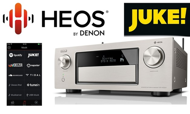 Denons HEOS-System nimmt JUKE-Streamingdienst mit an Bord
