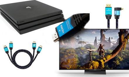 Ultra HDTV-HDMI-Kabel schaffen Probleme mit Sonys Playstation PS4 Pro aus der Welt