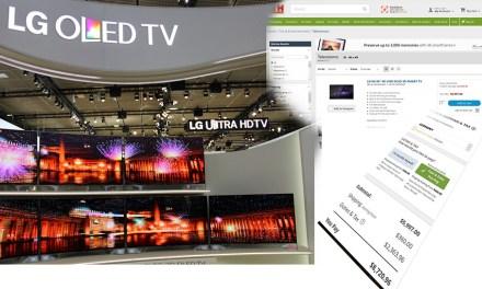 Preisrutsch bei LG OLED-Fernsehern in den USA! Vorsicht: Import-Kauf lohnt sich nicht