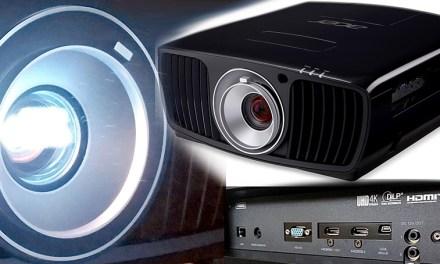 Acer V9800-Beamer kommt mit kleinem Trick zu hochauflösendem 4K-Bild