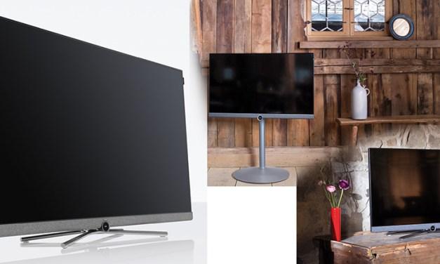 """Der Loewe """"bild 5"""" ist gleichzeitig Design-Objekt und High-End-Fernseher"""