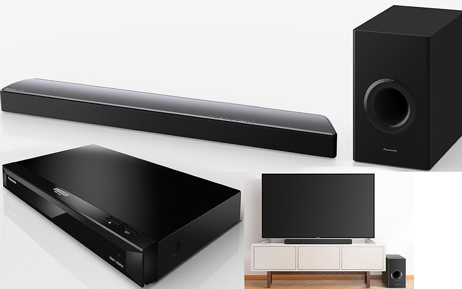 Vielseitiger UHD Blu-ray Player für Einsteiger und zwei maßgeschneiderte Soundbars