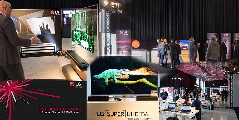 Highlights der LG-Roadshow? Loyale, kompetente Mitarbeiter und Wallpaper-TV