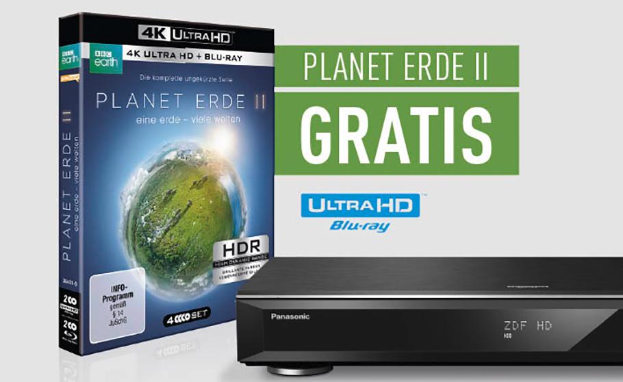 """Panasonics neue UHD Blu-ray Recorder gehen mit kostenloser """"Zugabe"""" an den Start"""
