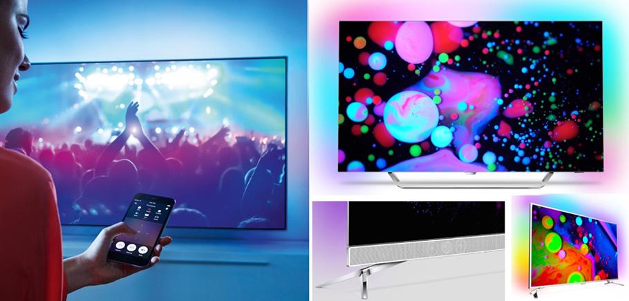 Zweiter Philips OLED-TV der Champion in der ersten Halbzeit 2017