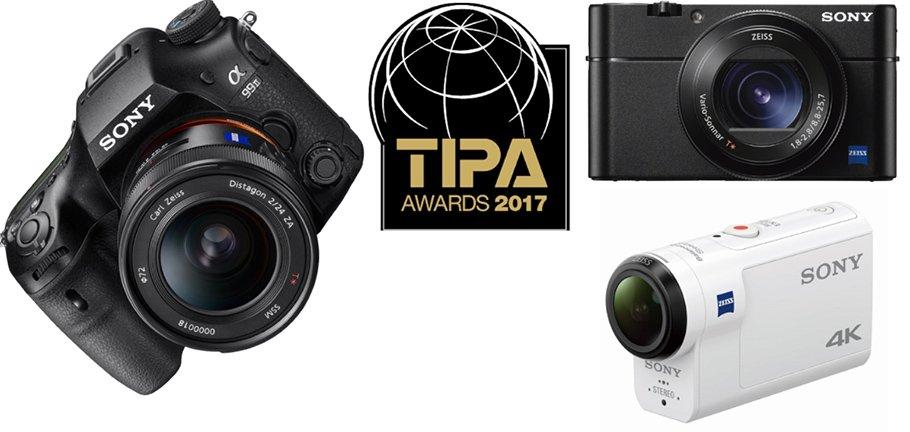 TIPA-Awards für drei völlig unterschiedliche Sony-Kameras
