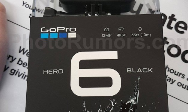 GoPro Hero6 Black Edition auf Foto geleakt
