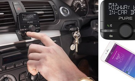 Mit Pure In-Car Audioadaptern ganz flugs zum DAB+ Autoradio