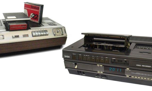 Vor 90 Jahren: Fernseh-Bilder wanderten von Schellack-Platten auf Magnetband