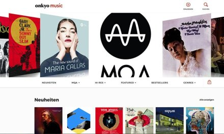 Onkyo Music-Website punktet vor allem bei MQA-Tracks