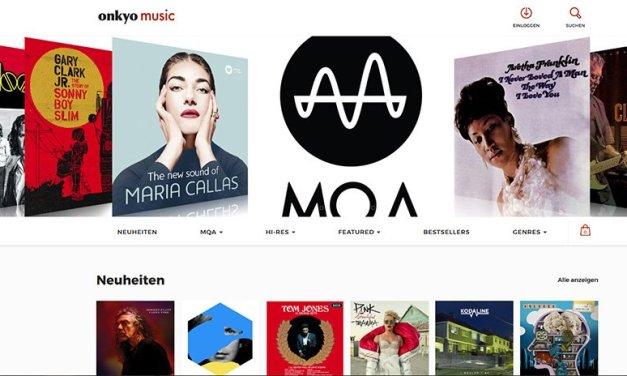 Onkyo Music-Website punktet vor allem bei MQA-Tracks