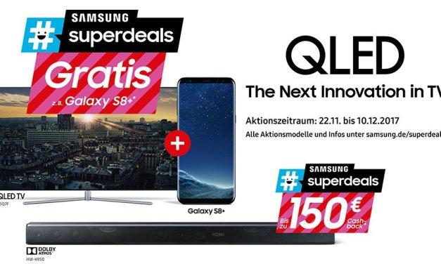 Samsung: Wer QLED-TV kauft, soll auf Galaxy-Smartphone nicht verzichten!