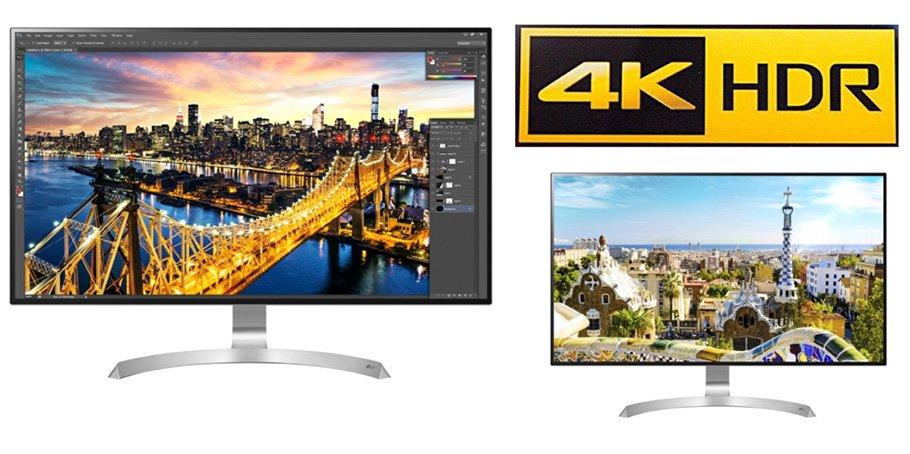 Neue LG 4K-Monitore holen alles aus HDR-fähigen Grafikkarten