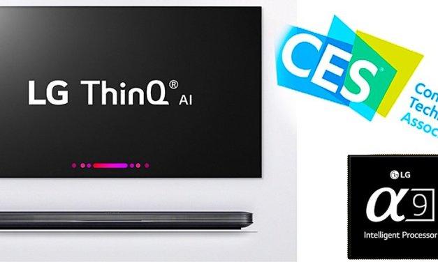 LGs smartes TV-Lineup mit neuem Prozessor und künstlicher Intelligenz