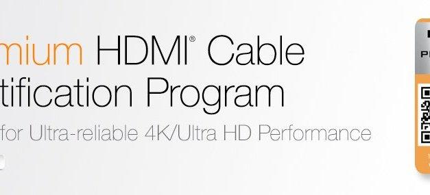 Ultra HD Premium zertifiziertes HDMI-Kabel ist da [Rabatt-Aktion]