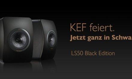 """KEF """"Black Edition"""": Mini-Monitor mit maximalem Klangbild"""
