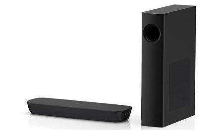 2.1-Soundbar von Panasonic hilft dünnem TV-Klang auf die Sprünge
