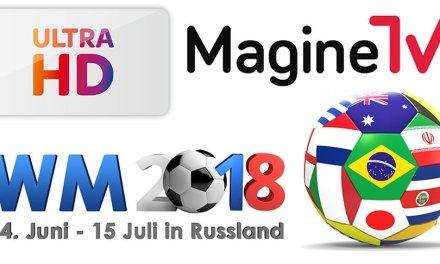Fußball-WM in Russland: Sky überträgt in UHD, Magine TV streamt europaweit