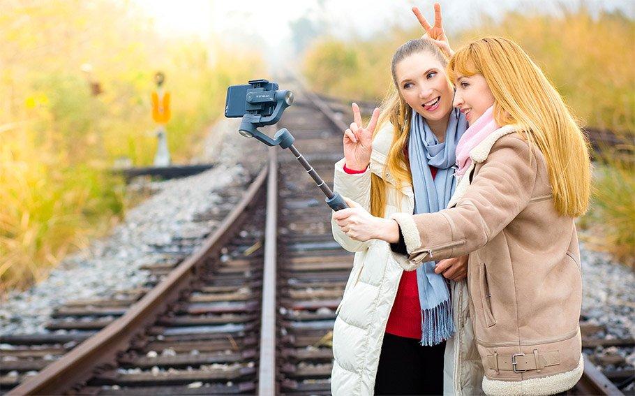 """Ein Gimbal für das Smartphone macht Videos """"geschmeidig"""""""
