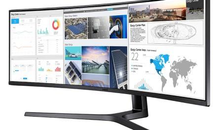 """Samsungs ultrabreiter Monitor, an dem man """"wirklich gerne arbeitet"""""""