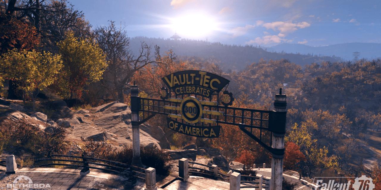 Fallout 76: Über 50 Minuten Gameplay in 4K