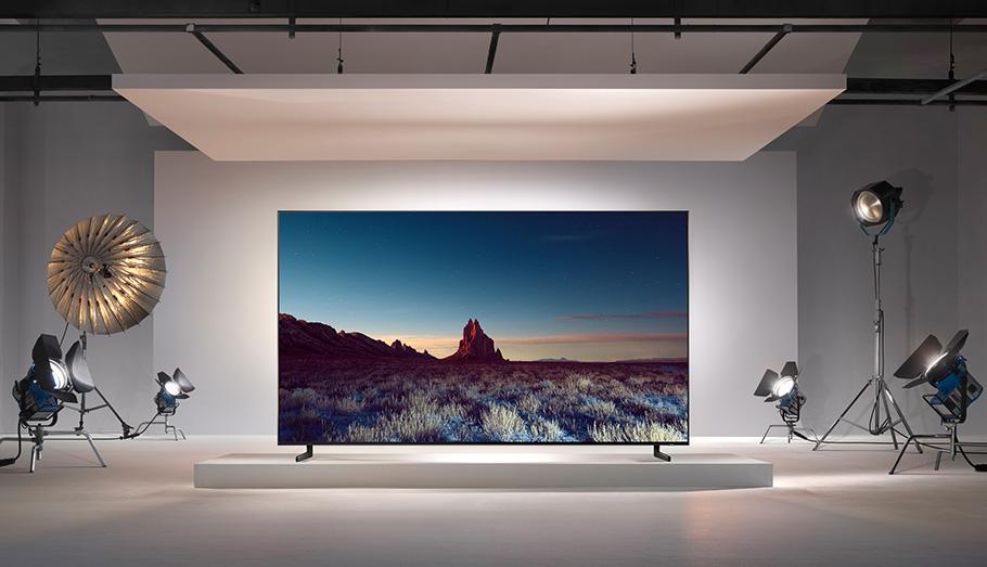 Weihnachten im Oktober: Samsung bringt 8K-QLED-Fernseher auf den Markt