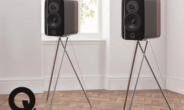 Neues Konzept von Q Acoustics: Stative verbessern den Klang!
