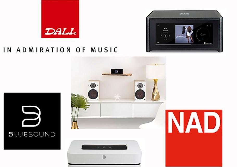 DALI-Vertrieb nimmt Bluesound, NAD und PBS mit an Bord
