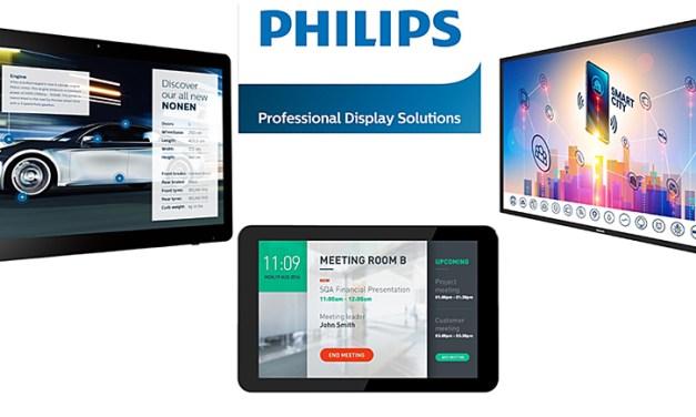 Philips Display-Lösungen sind nicht nur für Profis interessant